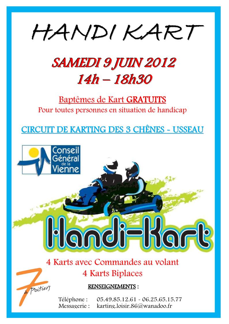 Handi-Kart circuit de Usseau 2012