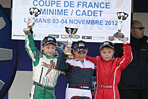 Podium Minime Coupe de France