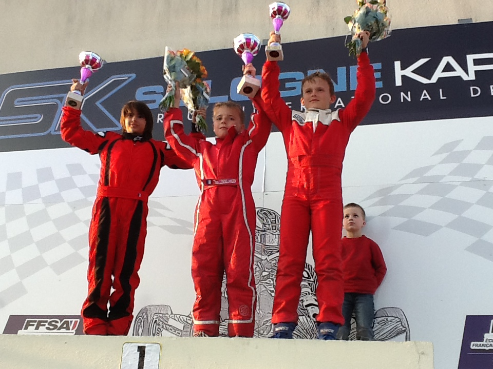 Podium Salbris 2012