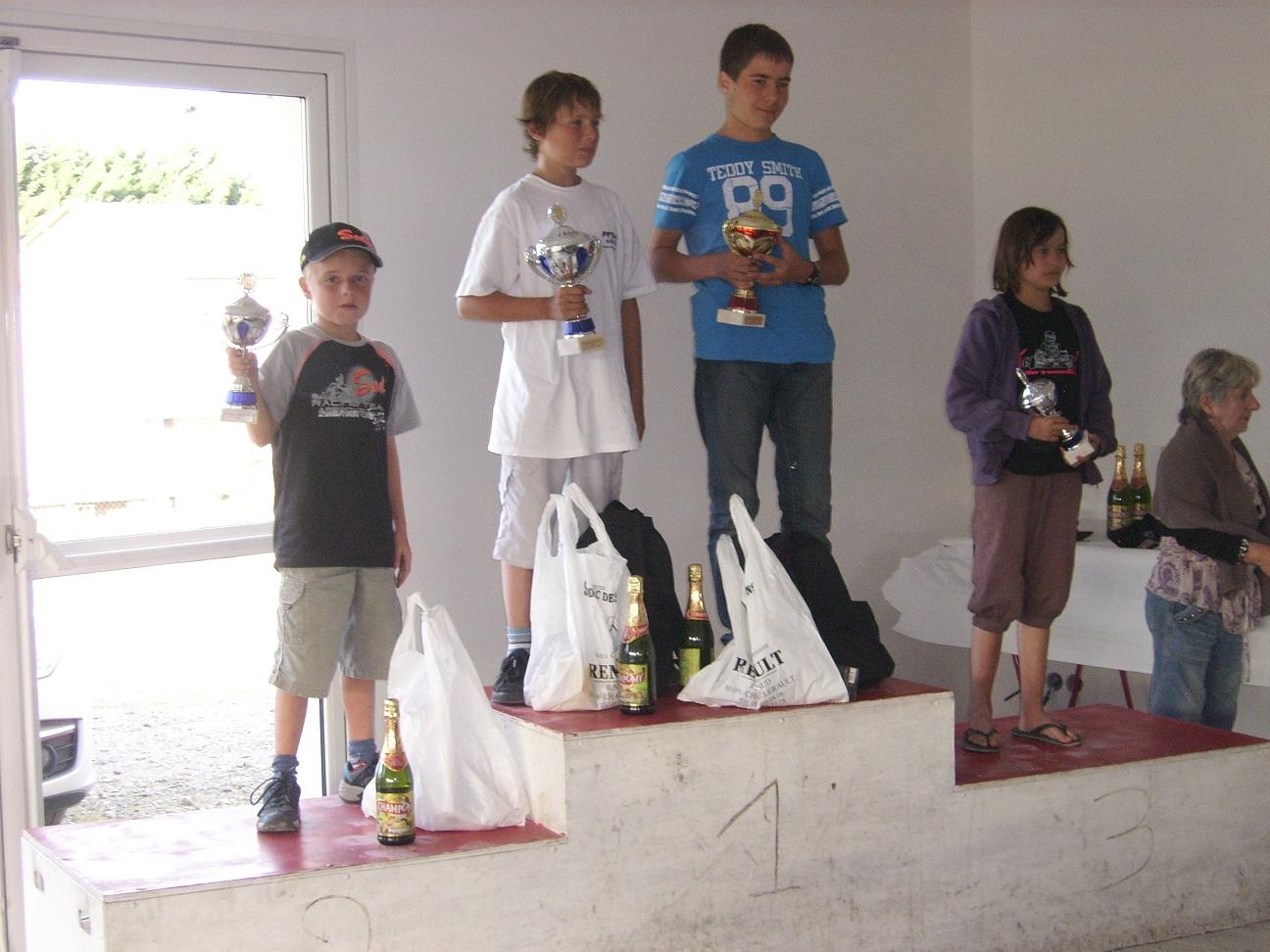 podium minime cadet trophé arnaud biet usseau 2011